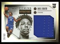 2015-16 Panini Gala Coming Attractions JAHLIL OKAFOR RC Jersey Patch Silver /60