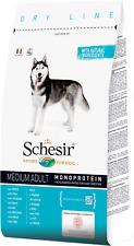 Schesir Dog Medium Adult Pesce Monoproteico Mantenimento 12 kg Per Cani