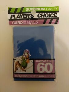 YuGiOh Players Choice 60 Count YuGiOh Size Japanese Quality Gaming Card Sleeves