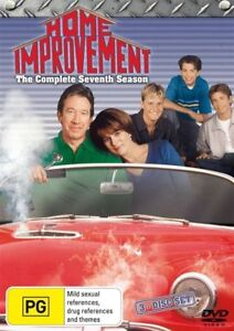 Home Improvement: Season 7 (3 Discs Set,DVD) - Region 4 Aust - NEW+SEALED