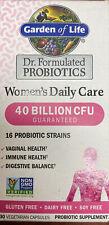 Garden of Life Women's Daily Care Probiotics - 30 Vegetarian Caps. . Exp: 10/21