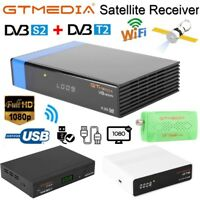 1080P HD WIFI Digital TV Satellite Receiver GTS/V8 GTMEDIA Nova/V7 Plus DVB-S/S2