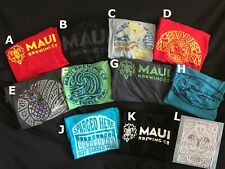 Maui Brewing Co Men'S Medium (M) Shirt & limited edition Hat bundle - Free Ship