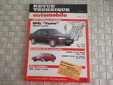 REVUE TECHNIQUE OPEL VECTRA ESSENCE (4 et 5 portes) GL - GLS - CD - GT