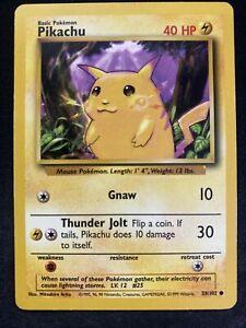 Pikachu 58/102 Base Set Pokemon Card (Yellow Cheeks) PSA ?