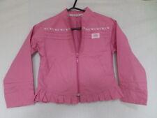 LA COMPAGNIE DES PETITS Girls Pink Ruffle Hem Jacket Size 6 Years