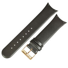 Genuine leather black band to fit 981XLRLD SKAGEN watches