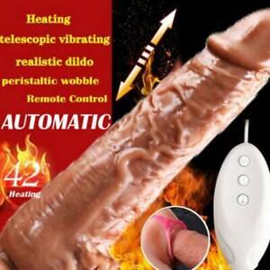 AUTOMATIC THRUSTING VIBRATOR G-SPOT MASSAGER ADULT SEX MACHINE DILDO TOYS US