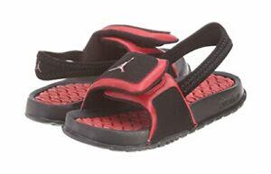 Jordan hydro 2 (TD) Slides Black/Red 487574 013 size 9c