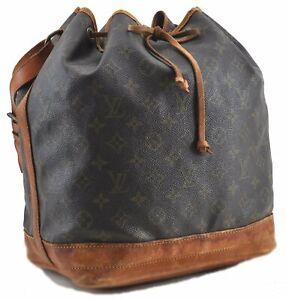 Authentic Louis Vuitton Monogram Noe Shoulder Bag M42224 LV C4574