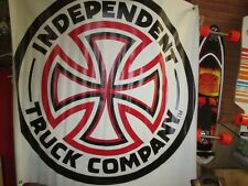 independent  trucks skateboard  banner