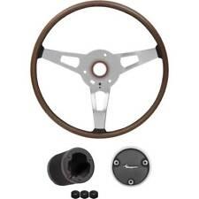 1970 Plymouth Barracuda, Cuda Wood Grain Rim Blow Steering Wheel Kit
