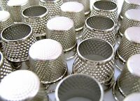 High Quality Tailor or Dressmaker Polished Steel Thimbles