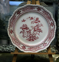 Vintage Big Mason's Manchu Pink LUNCHEON PLATE