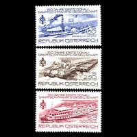 Austria 1979 - Anniv. of the First Danube Steam Shipping Company - Sc 1114/5 MNH