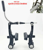 TRP CX9 bike bicycle Mini-V Brake CNC Front and Rear cyclocross Black