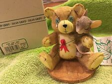 "Charming Tails ""You Are Not Alone"" Dean Griff Teddy Bear Silvestri"