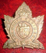 CAP BADGES-CANADIAN WW2 THE PERTH REGIMENT