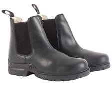 Mark Todd Fleece Lined Jodhpur Boots Black Size EU 44 - CLEARANCE