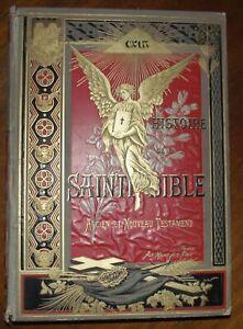 HISTOIRE DE LA SAINTE BIBLE PAR L'ABBE CRUCHET ANCIEN ET NOUVEAU TESTAMENT