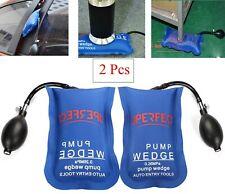 2x Universal Air Pump Wedge Bag Inflatable Shim for Car Door Window Repair Tools