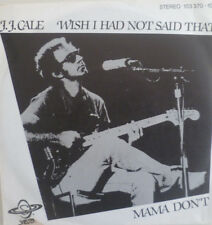 "7"" 1980 RARE MINT- ! J.J. CALE Wish I Had Not Said That"