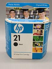HP 21 Black Inkjet Ink Cartridge Install by Date November 2009-Free Shipping