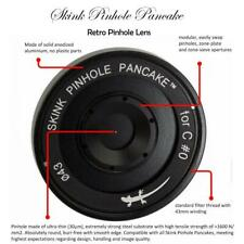 Skink Pinhole Pancake Starter Kit Lens Copal #0 Prontor shutter Zubehörpaket 4x5
