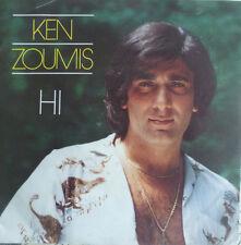 "7"" 1982 RARE PROD COSTA CORDALIS VG+++! KEN ZOUMIS : Hi"