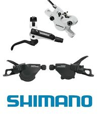 SHIMANO BL-M506 / br-m447 Freni & M610 (2 / 3x10) ispec SHIFTER Set-Nero Bianco