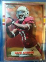 David Johnson 2015 Topps Chrome Super Rookie 89-DJO Arizona Cardinals