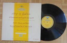 C681 DG LPM 18456 11/57 ED1 ROLOFF PIANO BEETHOVEN VARIATIONS & WEBER SONATA