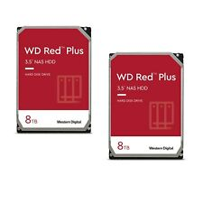 WD Red Plus 2er Set WD80EFAX - 8TB 5400rpm 256MB 3,5 Zoll SATA 6 Gbit/s