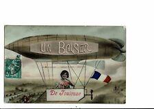CPA-Carte Postale -France-Un baiser de Toulouse-- VM11304