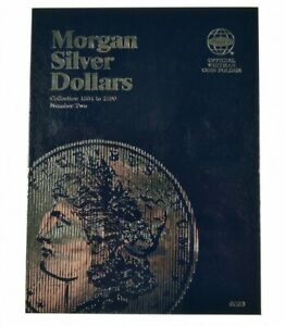 Whitman Coin Folder Morgan Silver Dollars 2, 1884 - 1890 (Albums, books)