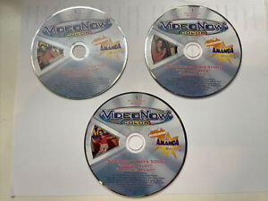 Video Now Color Nickelodeon 3 discs 9 episodes The Amanda Show