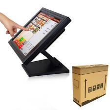 """15"""" LCD Touchscreen Monitor Kassensystem Gastronomie PC POS Kassenmonitor DE"""