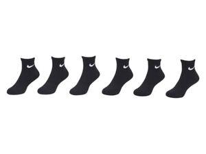 Nike Toddler/Little Boy's Quarter Crew Athletic Socks 6-Pairs Dri-FIT