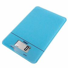 Blue Digital Kitchen Scale Multi-function Cooking, Baking, Milk,and Water Scale