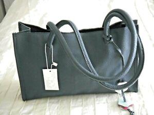 Brand New Ladies Blue faux leather Shoulder/Handbag BNWT