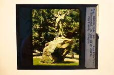 Magic Lantern Slide Indian Trail Monument City Park Portland Oregon M E Church