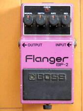 VINTAGE! RARE! 1982 Roland Japan BOSS BF-2 Flanger GUITAR EFFECT PEDAL BASS MIJ