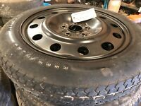 2005-2007 FORD FREESTYLE 17 INCH COMPACT DONUT SPARE TIRE WHEEL RIM        L 3 C