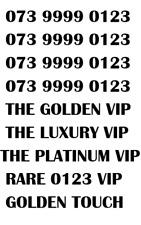 GOLD LUXURY VIP PLATINUM RARE 0123 BUSINESS MOBILE NUMBER - PREMIUM 0123 GOLD