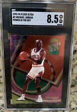 1993-94 Fleer Ultra Michael Jordan #2 Power In The Key / SGC 8.5 NM / MT+