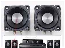 """2x 2.5"""" 50mm 8Ω Ohm 15W Full Range Audio Loud Speaker Loudspeaker for Samsung HT"""