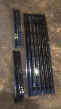 RANGE ROVER P38 Front Grill Painted 602 Blue  Look At Pics Please + Light Trims