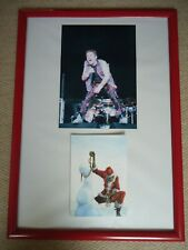 More details for iron maiden christmas card faux signed vintage 90`s+ iron maiden photo image gem