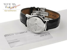 MONTBLANC STAR CHRONOGRAPH GMT AUTOMATIC UHR HERRENUHR 42mm STEEL WATCH OROLOGIO