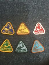 New listing Lot of 6 Vintage Usfsa Figure Skating Patches 1970's -'90's